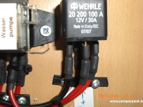 Relais für die Pumpenschaltung - Ein- und Umbauten unserer ...